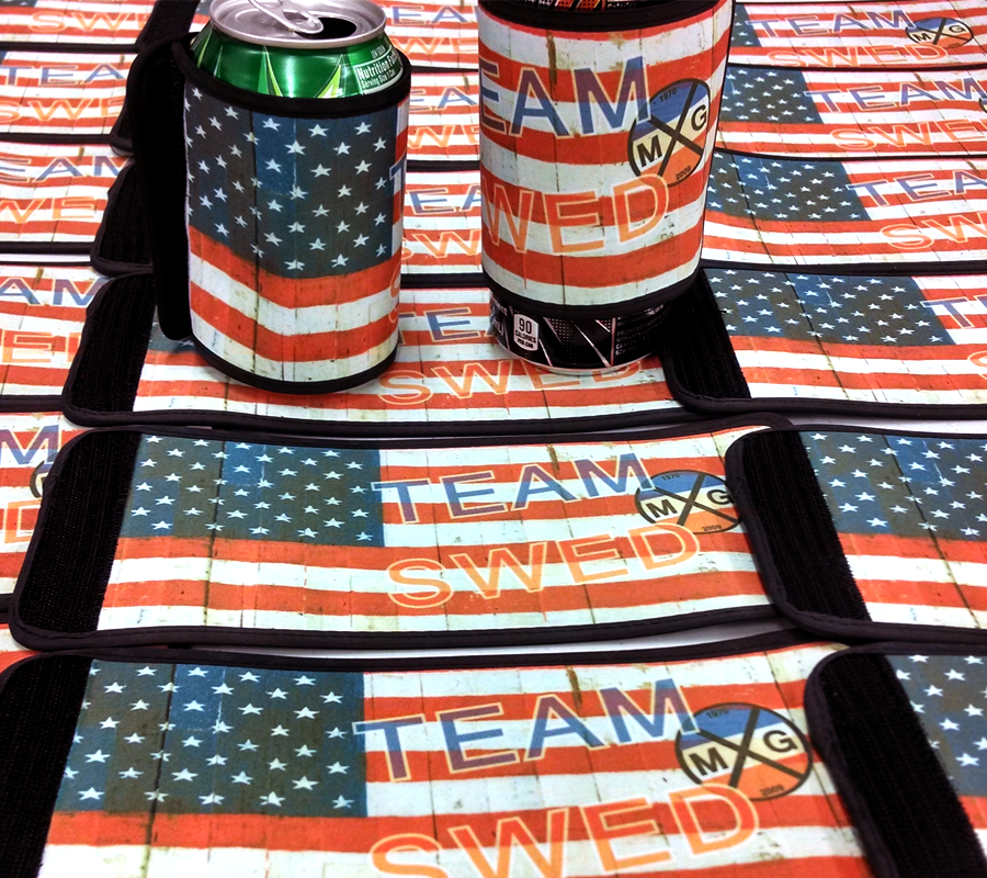 digital printing can koozies