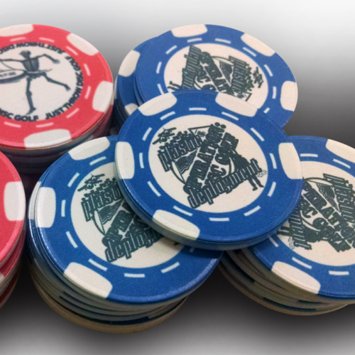 digital printing poker chips