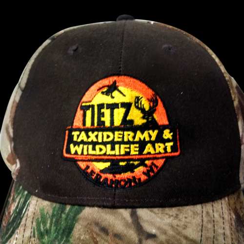 embroidery tietz taxidermy hat